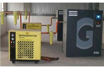 新建柴油空气压缩机租赁分析空压机跑油处理